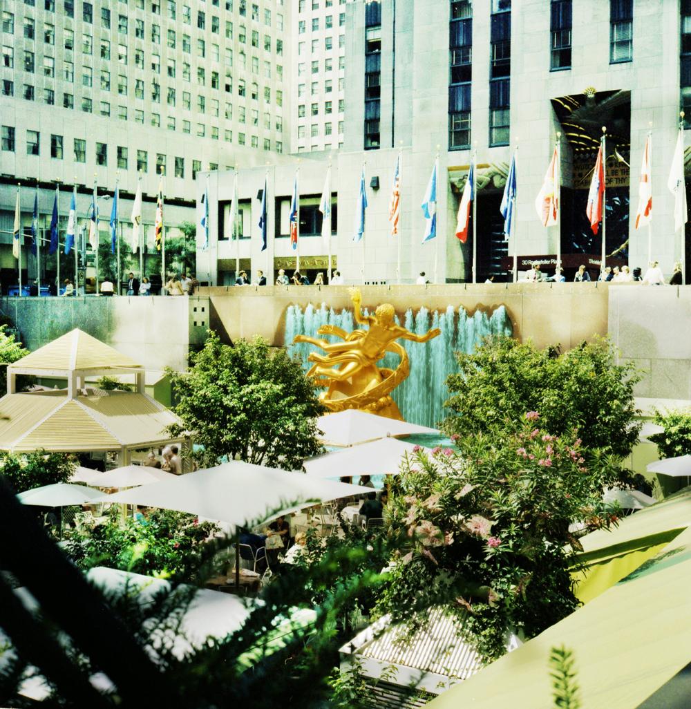 Lower Plaza, Rockefeller Center