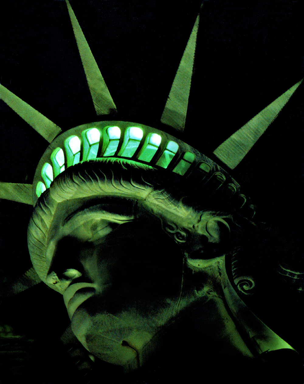 Statue of  Liberty Night Vision