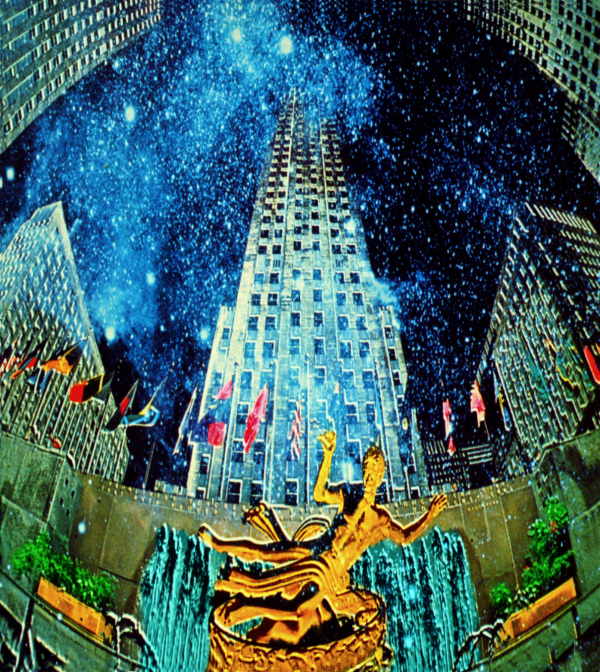 Rockefeller Plaza Photo Fantasy