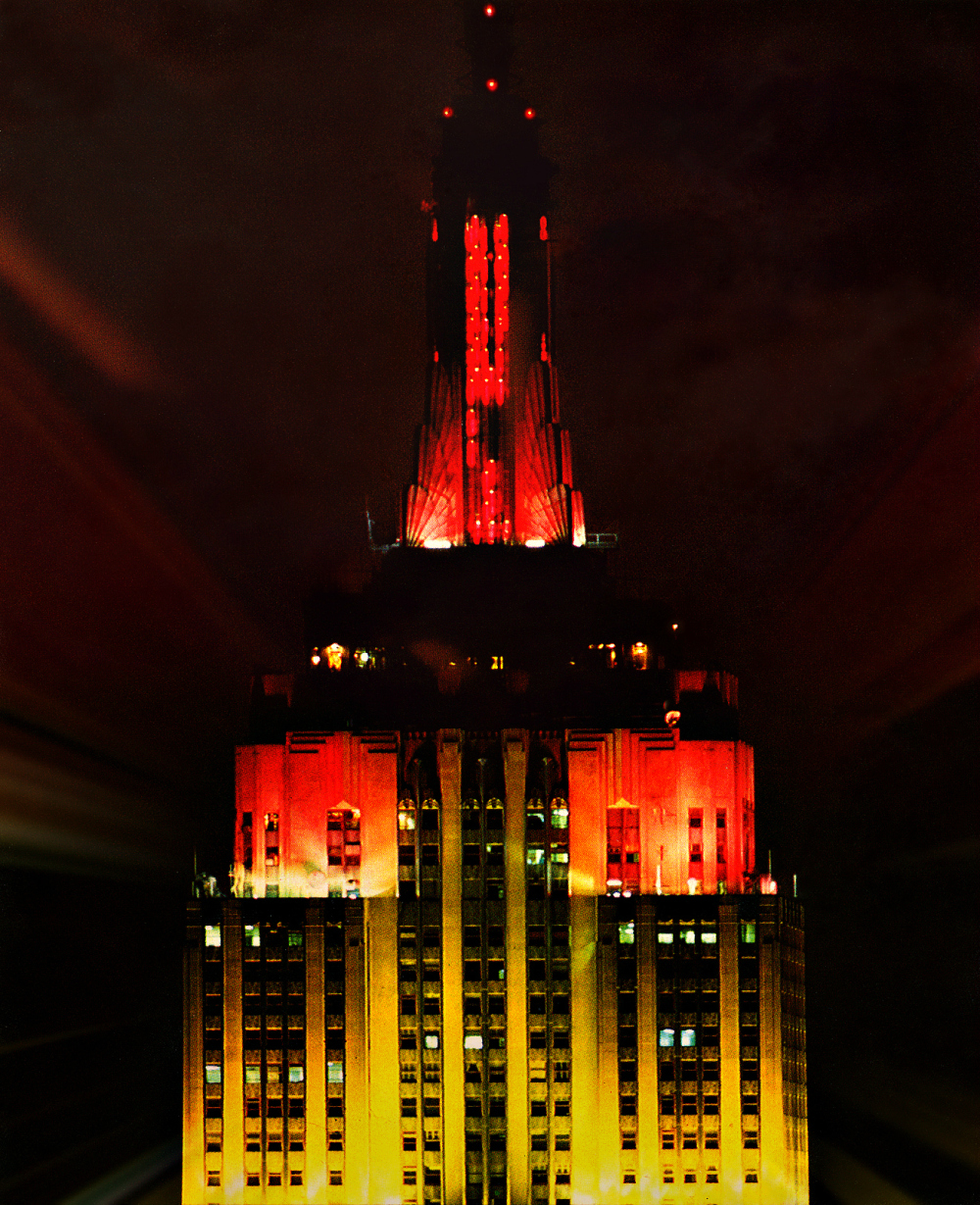 """Empire State Building from """"The Top Of  The Rock"""""""