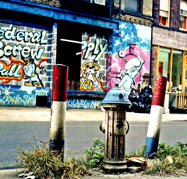 Across the Street,  525 Broome St.,  NYC