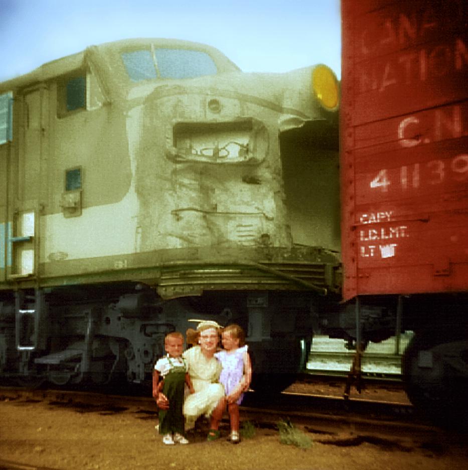 CNR Railway, Aug. 17, 1958