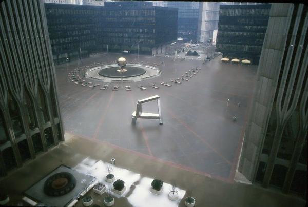 Below the WTC