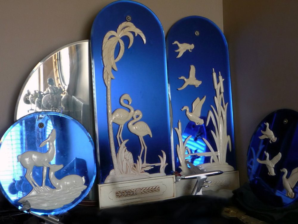 Blue Mirrors Collection