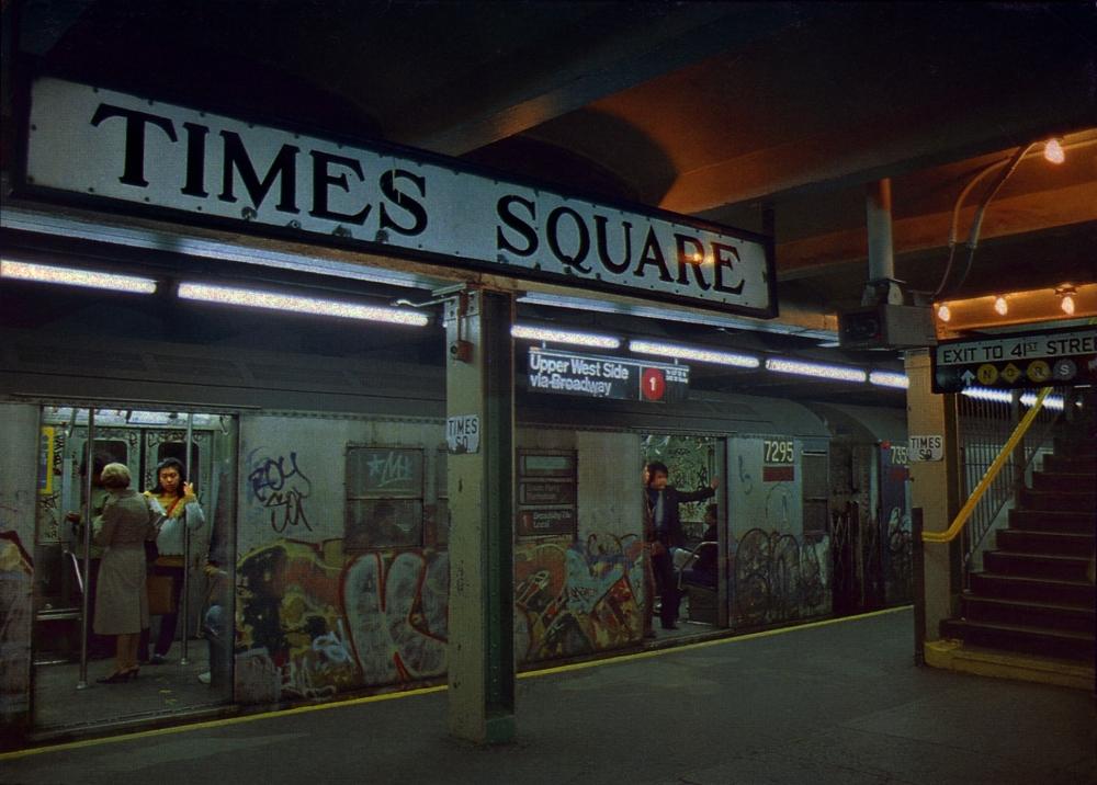 Times Square Underground Subway