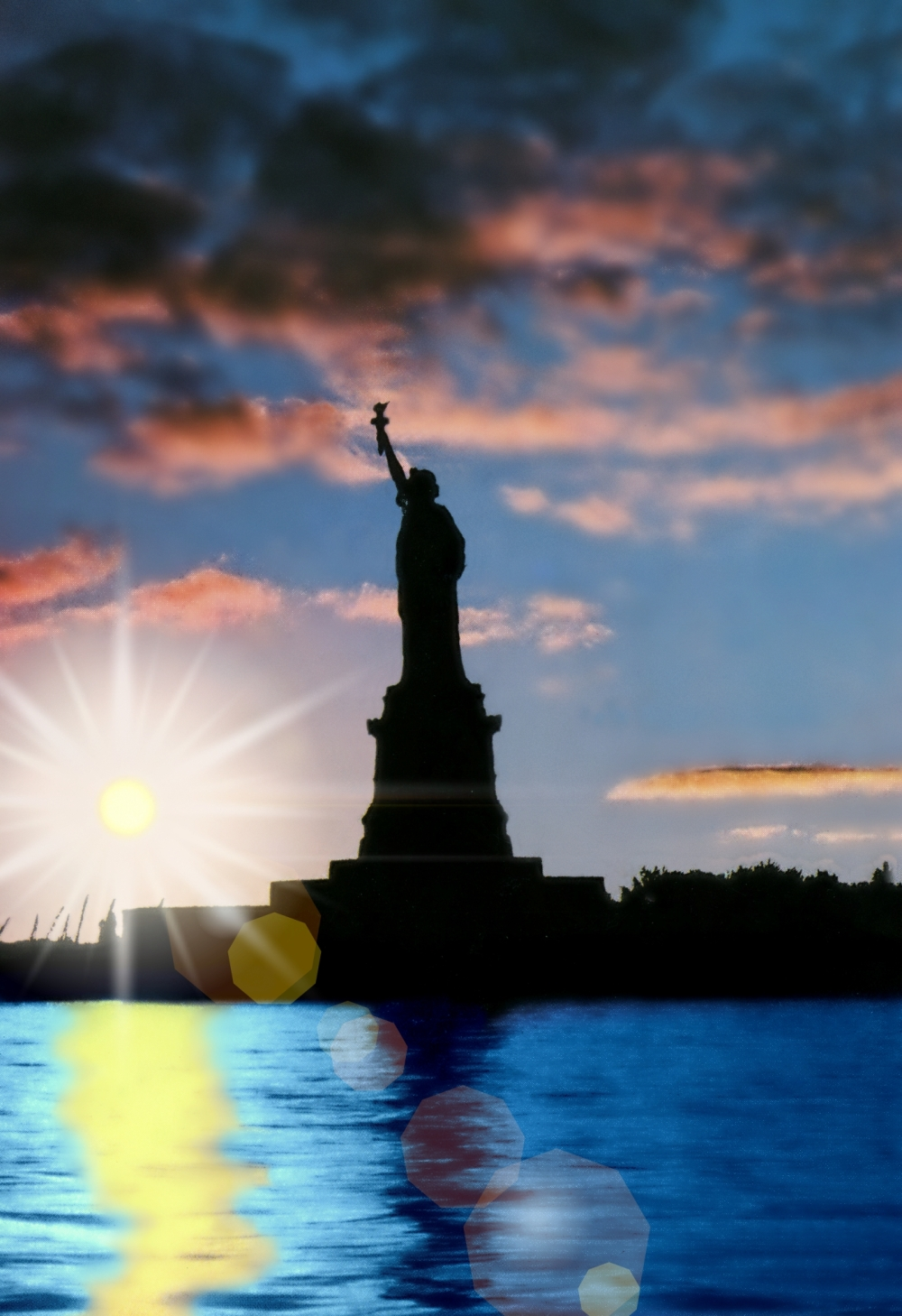 Statue of Liberty, Liberty Island, N. Y.
