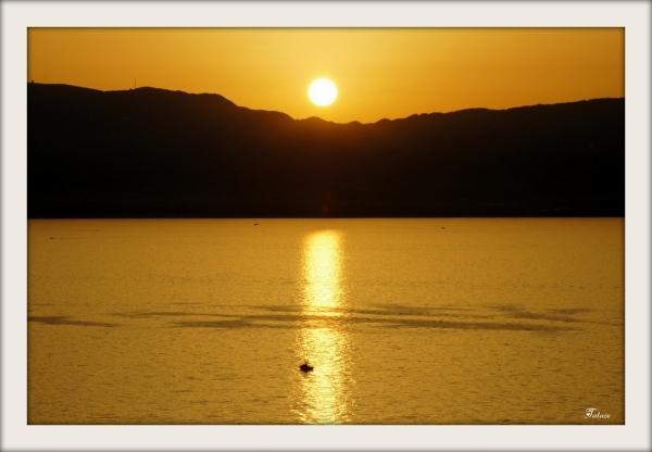 Quand le soleil s'endort......