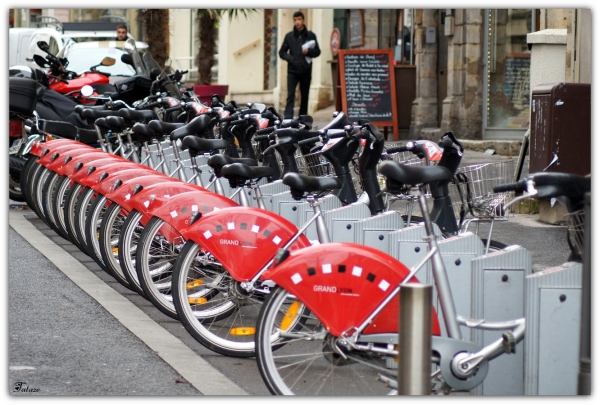 A bicyclettes