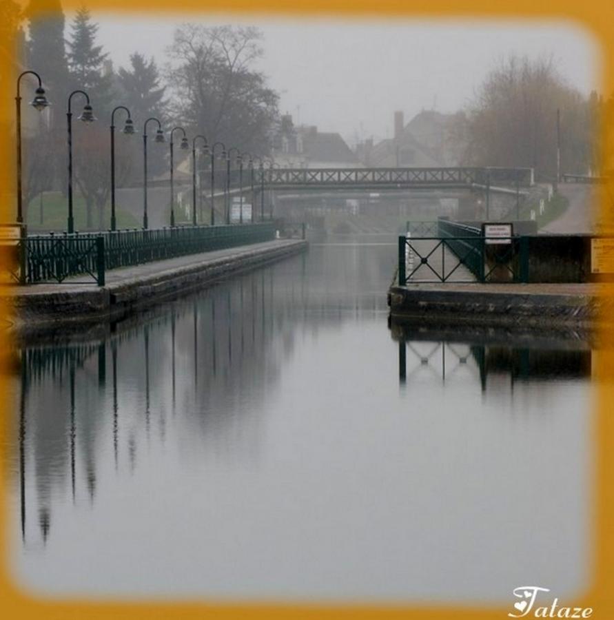 Jour de brume sur le Pont Canal
