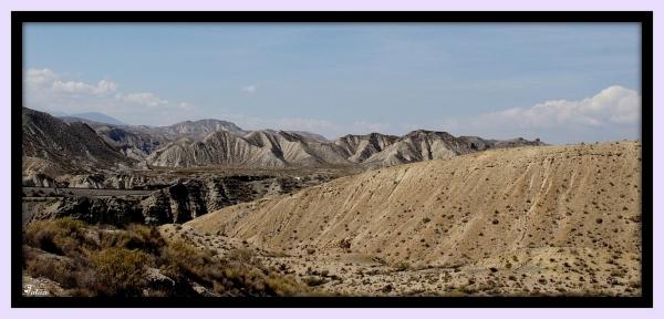 Le désert de Tabernas