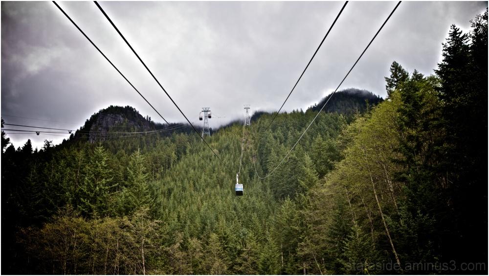Trip up Grouse Mountain via Skyride