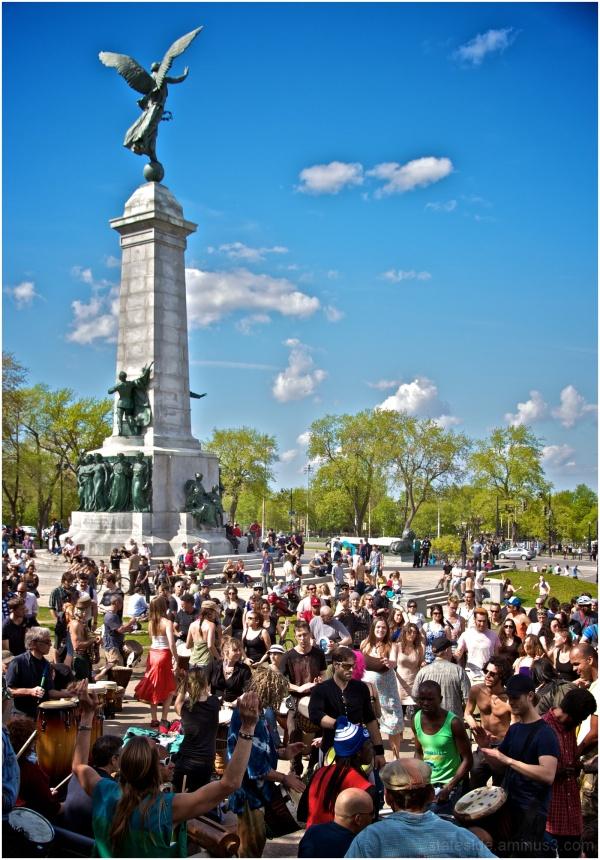 Sunday Tam-Tams Montreal Mount Royal