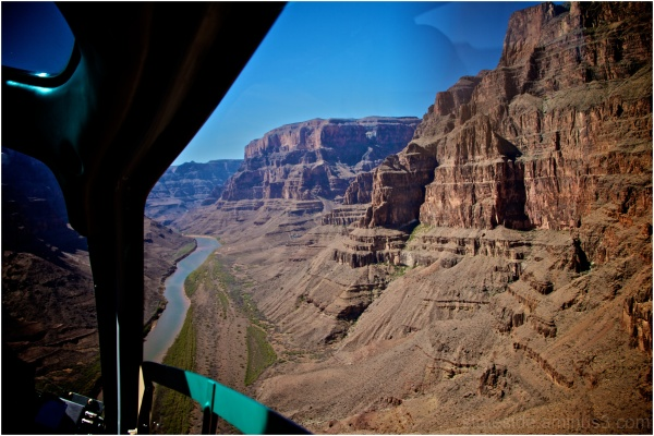 Grand Canyon fron helicopter