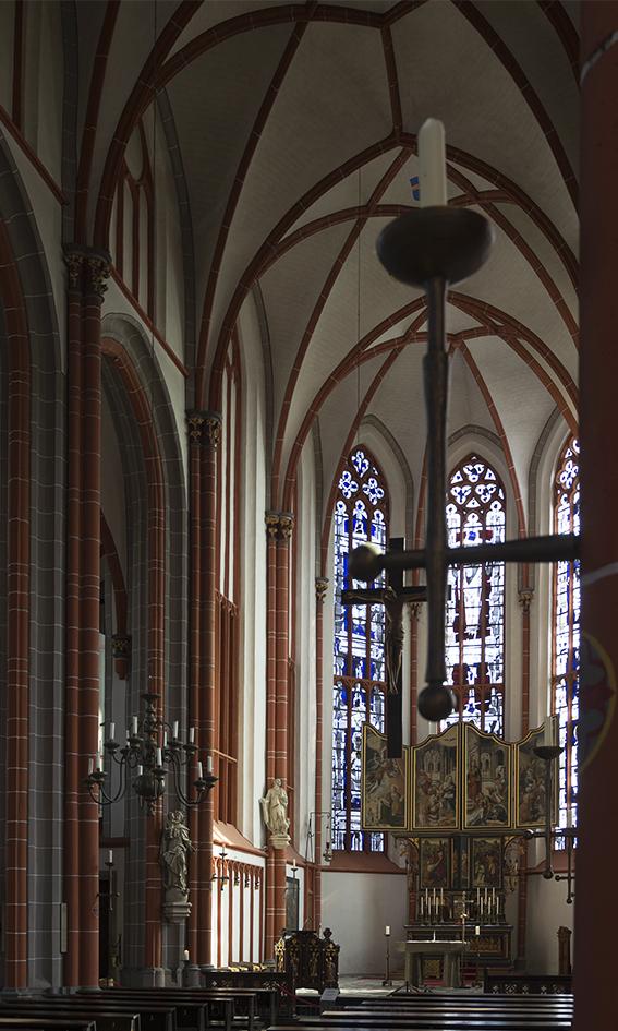 blikvanger kerk Kranenburg (D)
