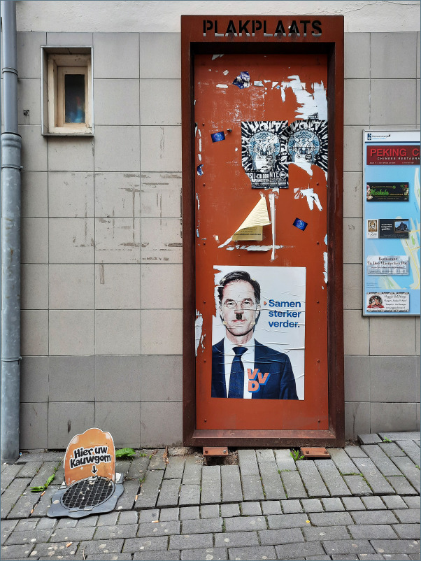 S/T Election poster