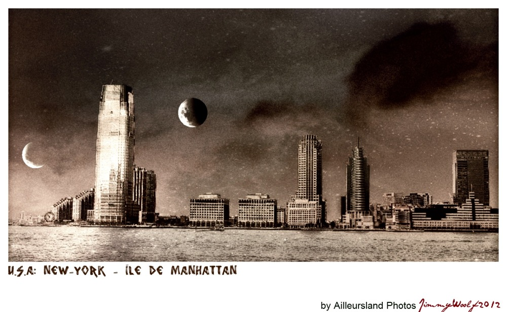 New-York: Ile de  Manhattan