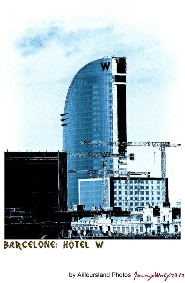 Barcelone: Hôtel W