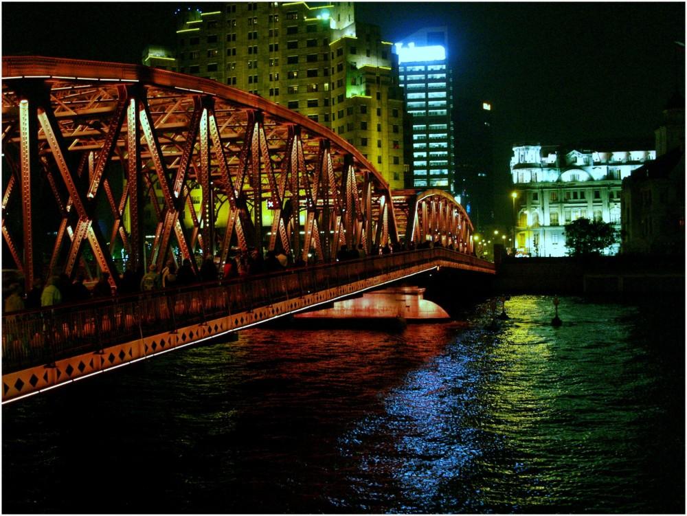 Chine, Architecture routière à Shanghai