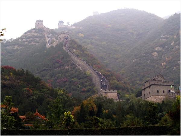 La grande muraille à Ju Yong Ghan
