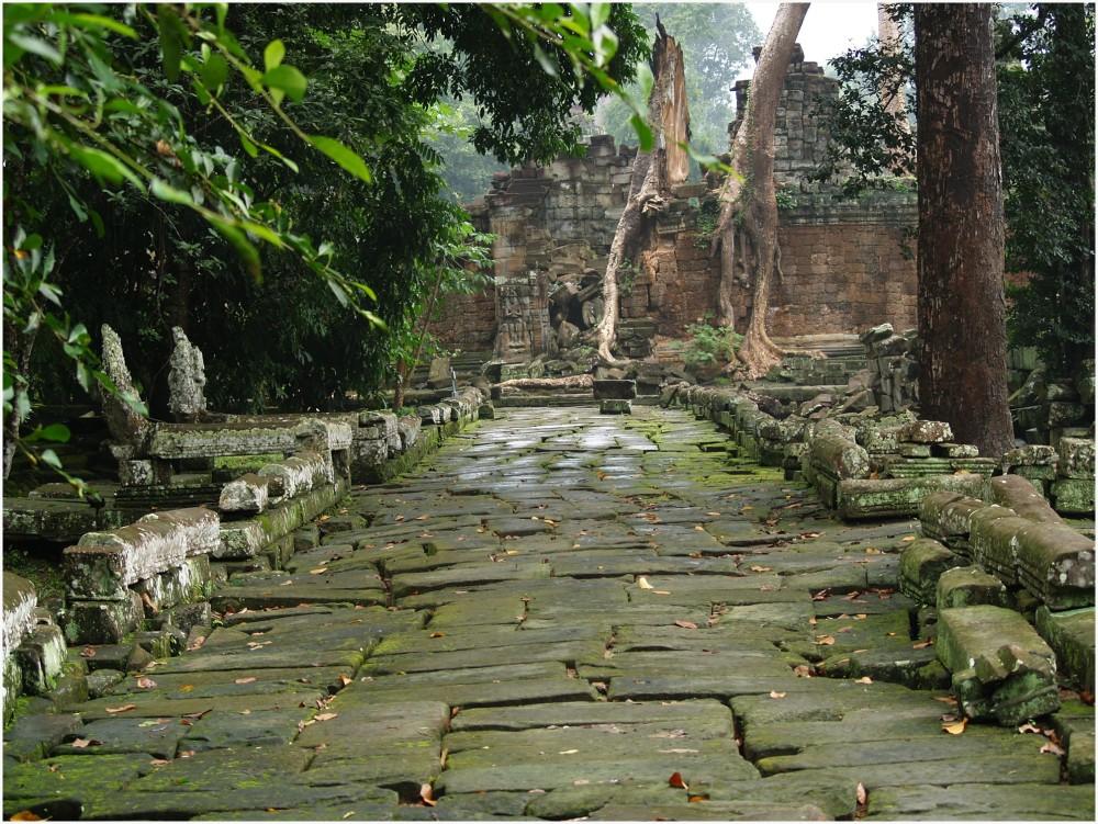 Angkor, le temple Preah Neak Pean