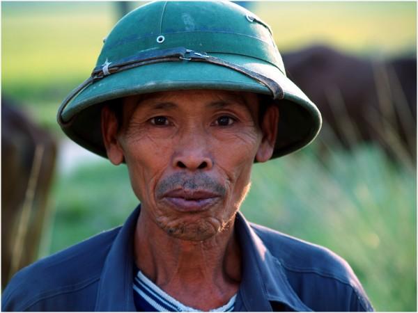 Sur la route de Hanoï au Nord Vietnam