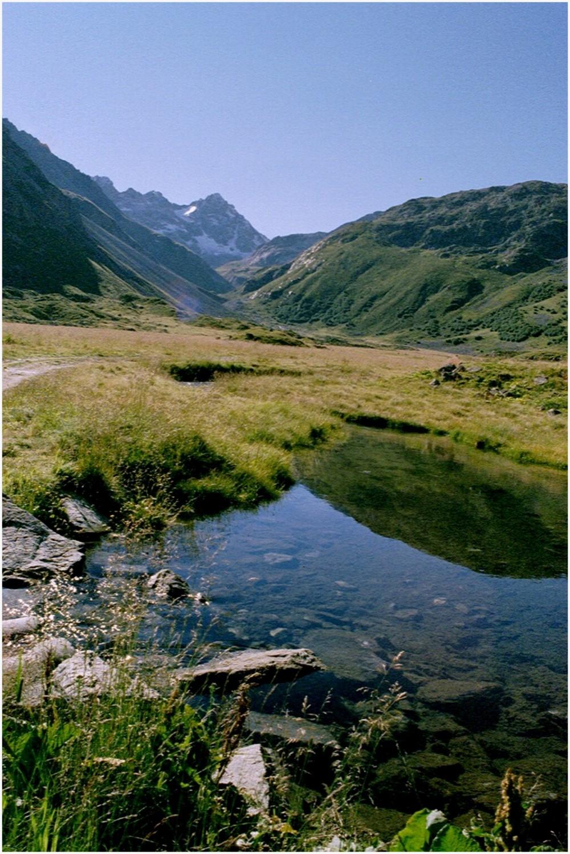 Meribel-Mottaret. randonnée en été