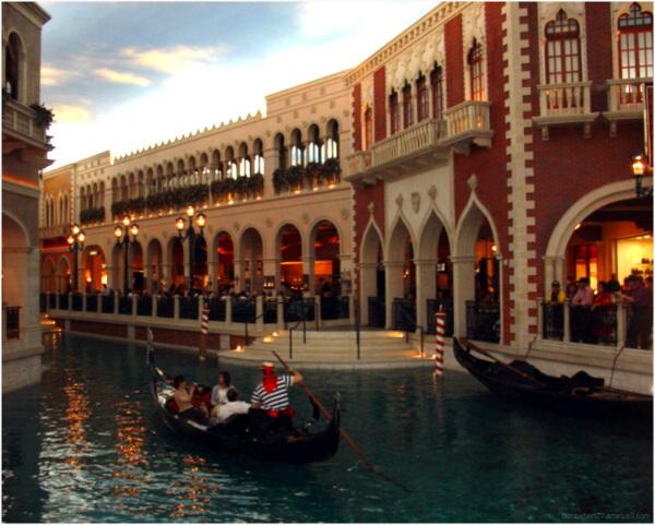 Intérieur du Venetian Resort Hotel à Las Vegas