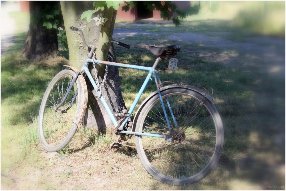 Capture d'un vieux vélo aux chantiers de Gdansk