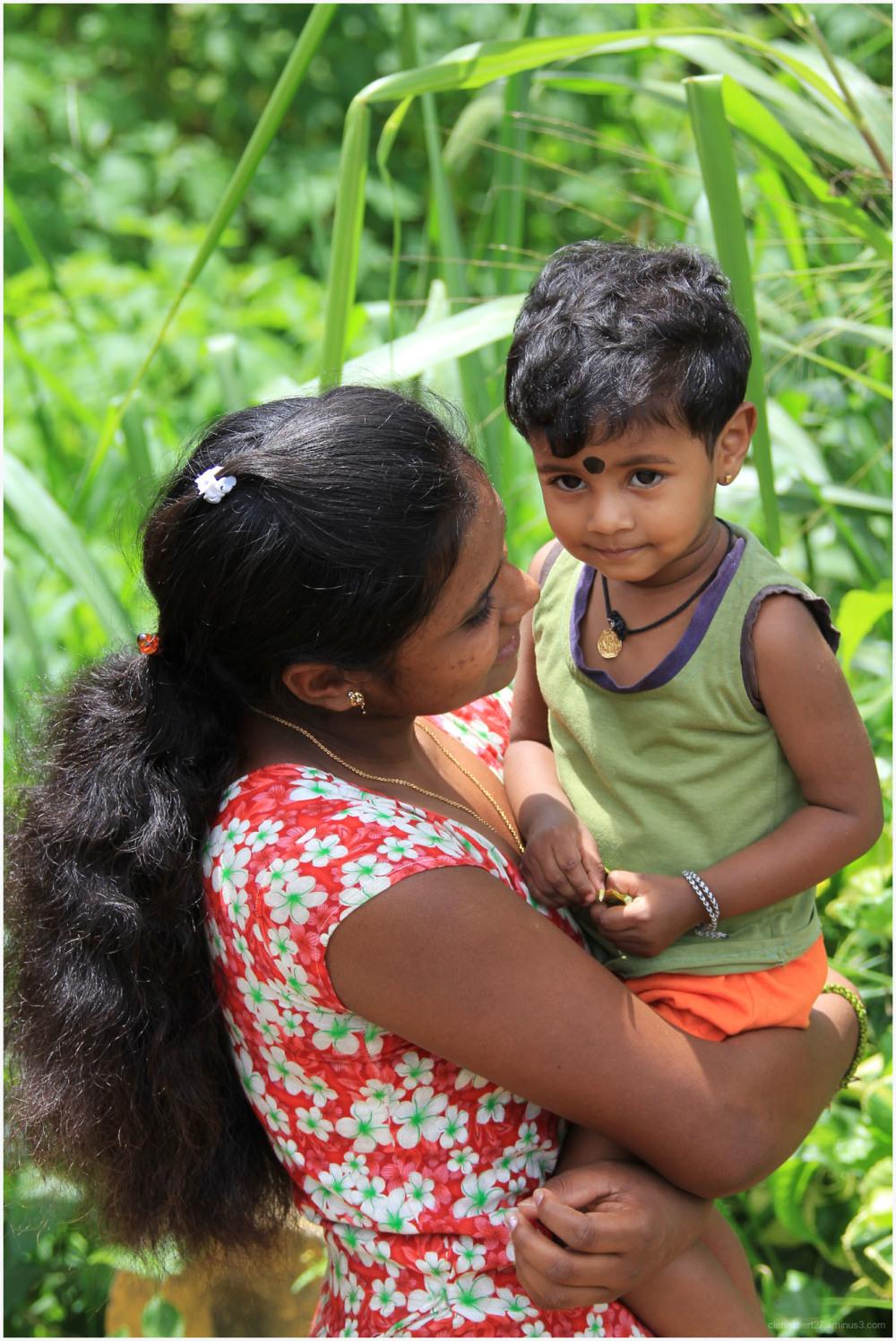 portrait, enfant, srilanka,