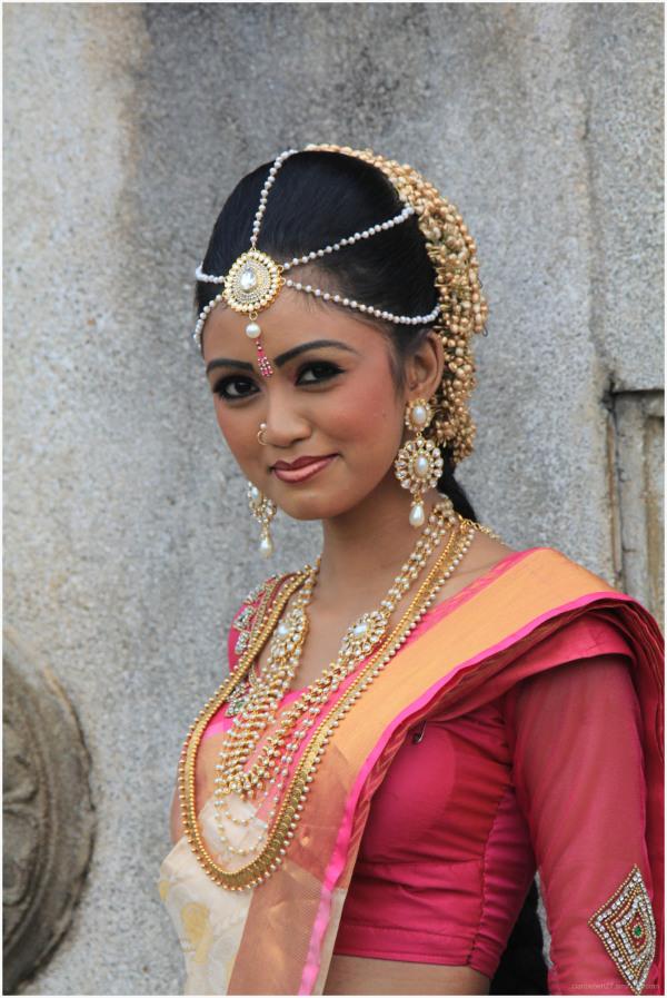 Séance photo pour une jolie mannequin srilankaise