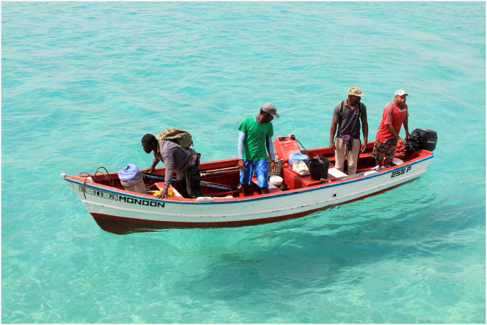 Retour de la pêche sur une eau limpide
