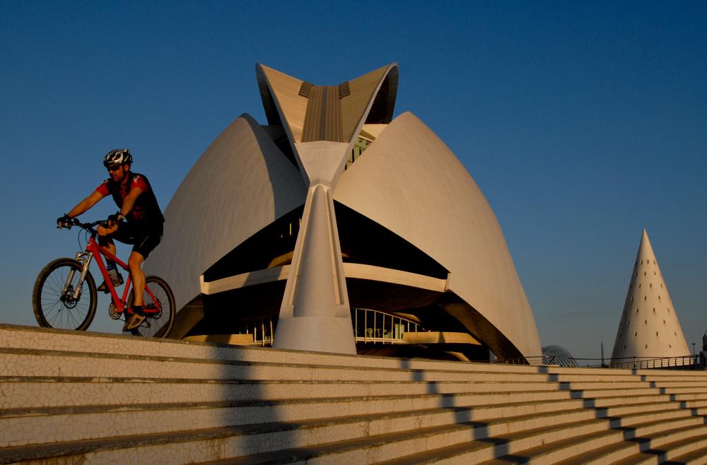 Vélo à Valencia