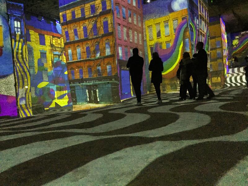 Carrière de lumières aux Baux de Provence
