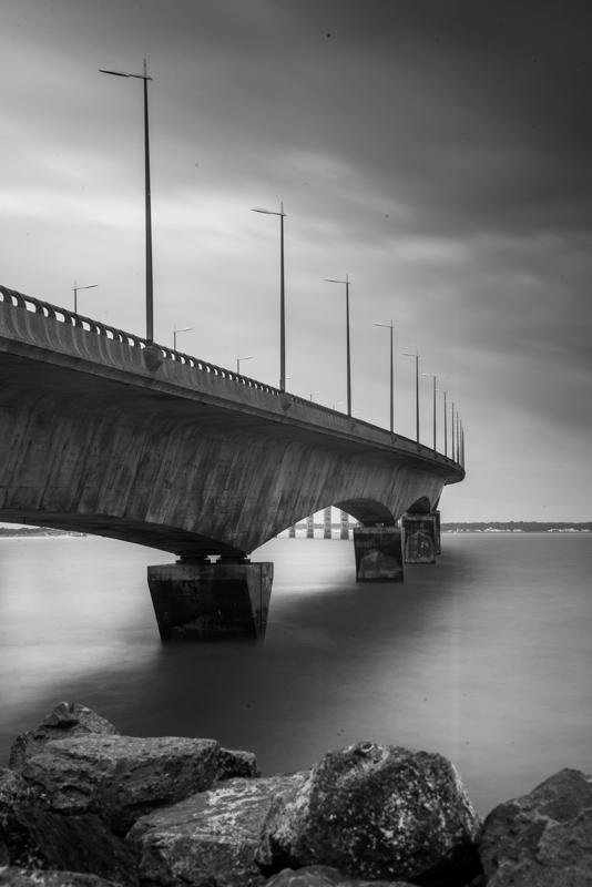Pont île de Ré, un autre angle