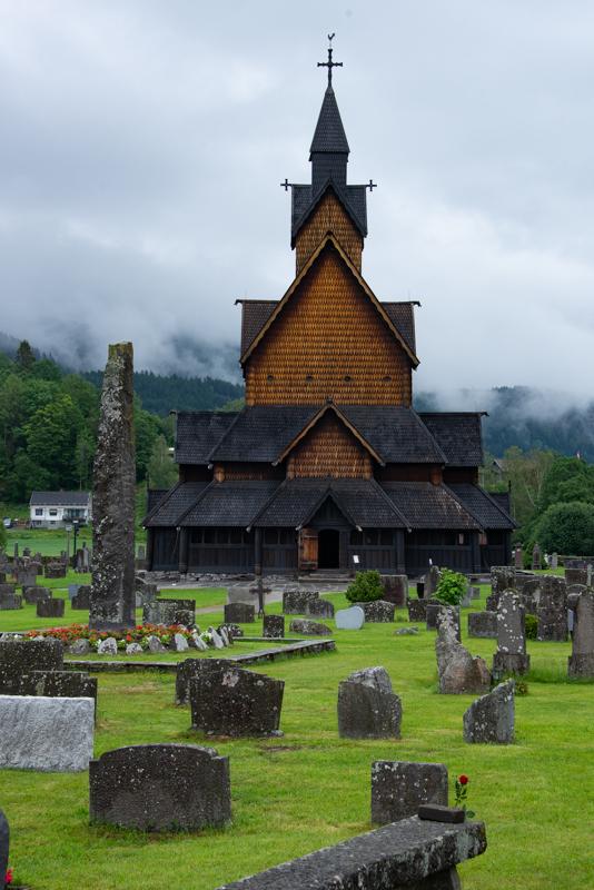 Eglise en Bois Debout