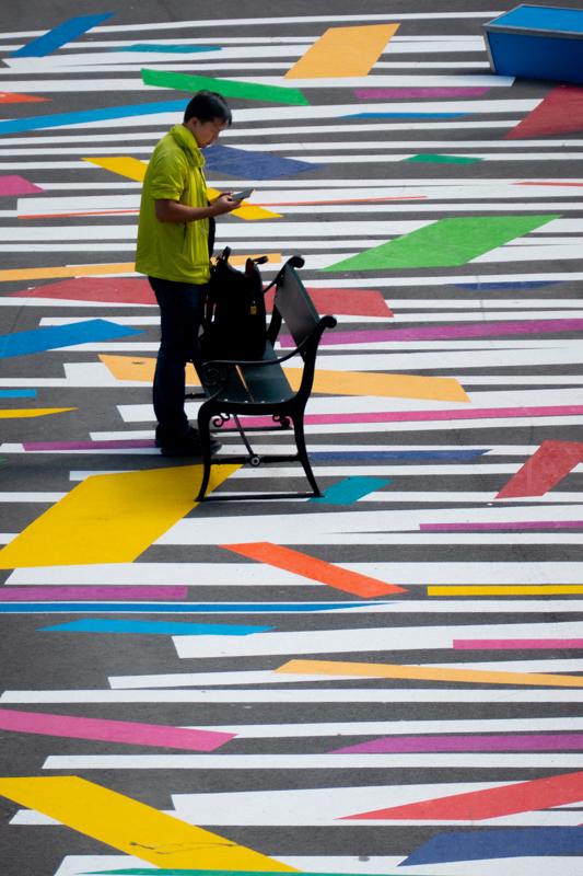 La vie en multicolore