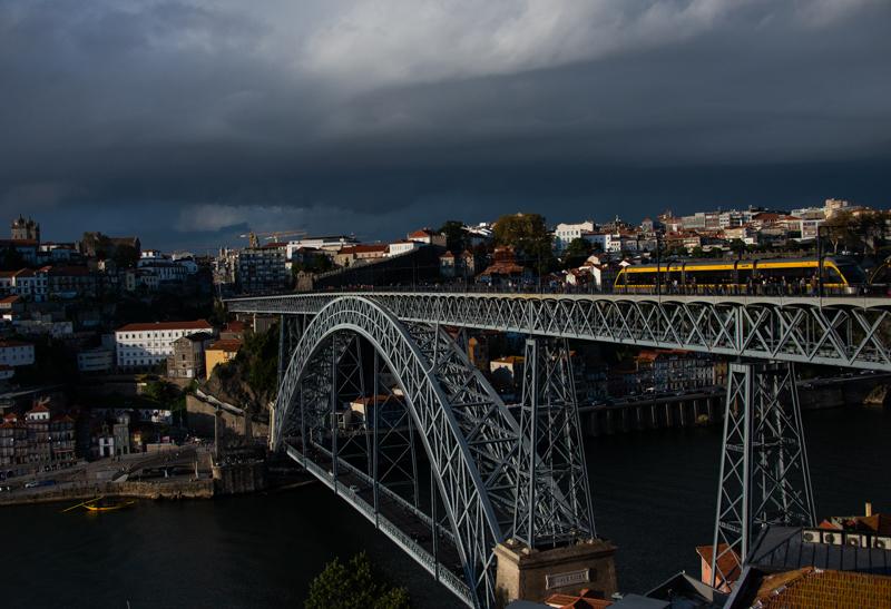 Porto et ses caprices météorologiques.