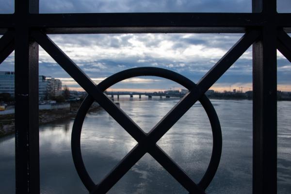 La Garonne encadrée
