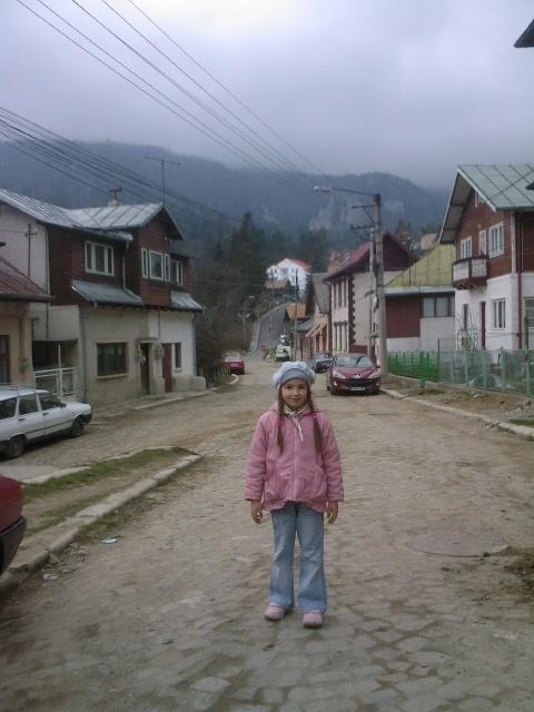 In Statiunea Sinaia