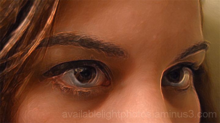 Accented Edges Eyes