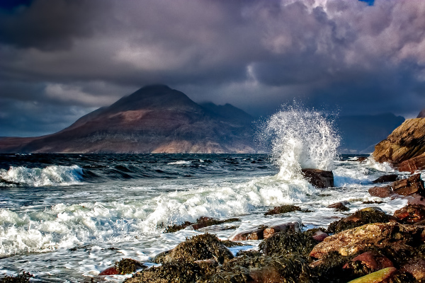 Storm Clouds at Elgol