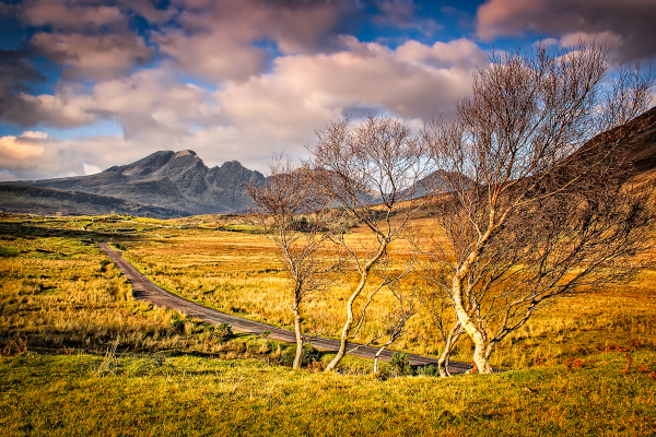 The Road to Blaven