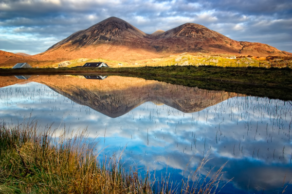 Red Cuillin Reflection