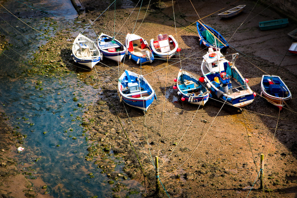 Tied Up in Staithes