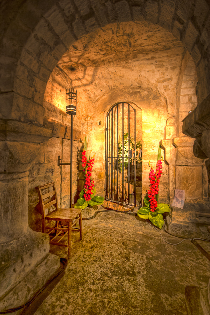 Flowers in The Crypt