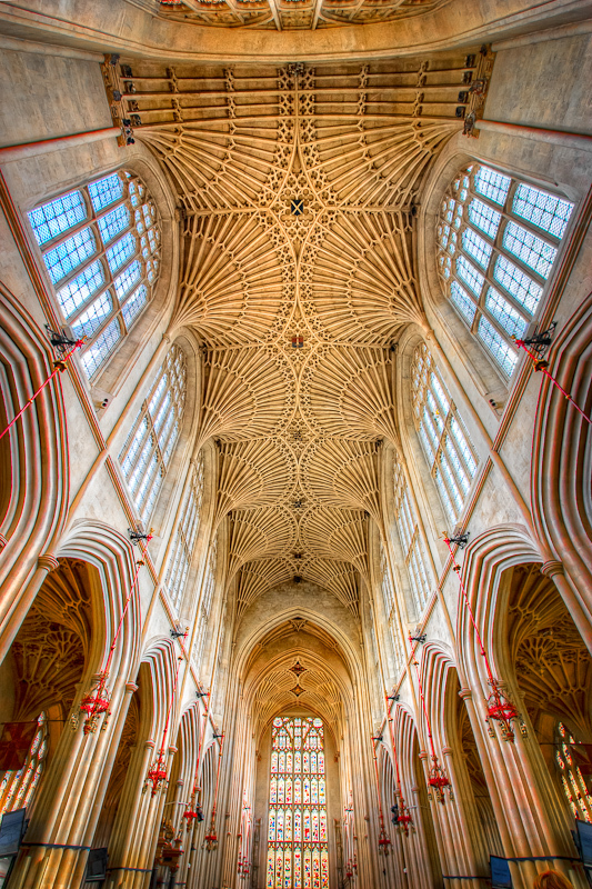 The Bath Abbey Ceiling