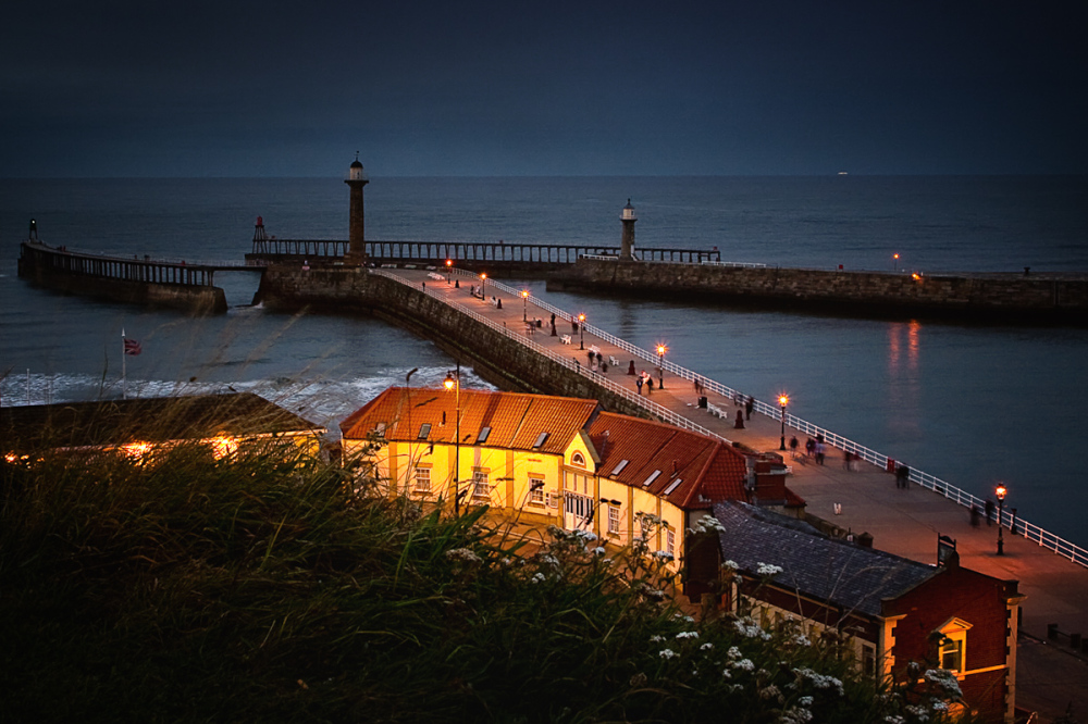 Night Falls on Whitby