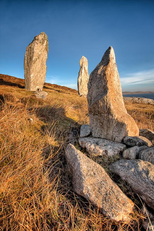 Three Stones in The Sunshine
