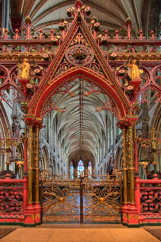 The Choir Screen at Lichfield