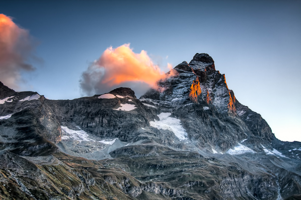 The Matterhorn at First Light